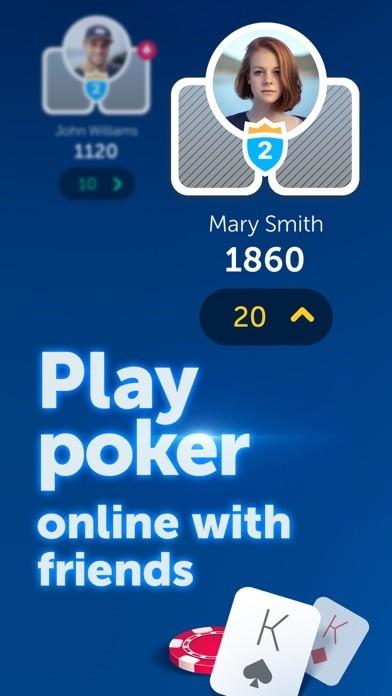 Online Poker Against Friends